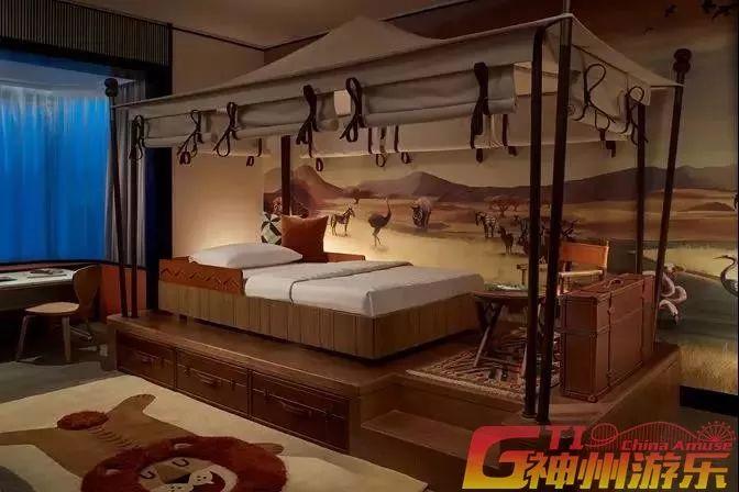 首页 主题乐园 儿童游乐  主题家庭套房面积达72平方米,设有充满想像
